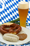 Oktoberfest Breakfast Royalty Free Stock Images