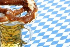 Oktoberfest Brezel Lizenzfreies Stockfoto