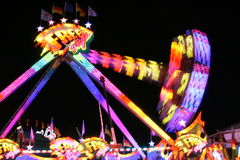 Oktoberfest. Carousel riding bokeh lights munich october octoberfest stock photo