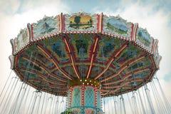 Oktoberfest carousel Stock Images
