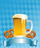 Oktoberfest Celebration Background. Vertical  Oktoberfest Celebration Background with Copy space Royalty Free Stock Photo