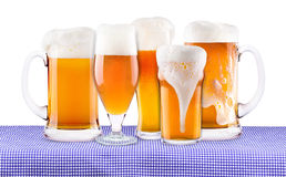 Oktoberfest Celebration Background with Beer Royalty Free Stock Images