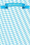 Oktoberfest celebration design background Royalty Free Stock Images