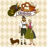 Oktoberfest celebration design Royalty Free Stock Photography