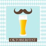 Oktoberfest celebration  design. Oktoberfest celebration design on textured background Stock Images