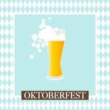 Oktoberfest celebration  design. Oktoberfest celebration design on textured background Royalty Free Stock Photo