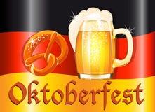 Oktoberfest celebration design Stock Images