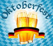 Oktoberfest celebration design Stock Image