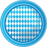 Oktoberfest circle background Stock Images