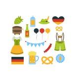 Oktoberfest Colorful Elements Stock Photos
