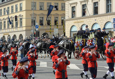 Oktoberfest Costume and Riflemen's Parade Royalty Free Stock Images