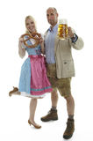 Oktoberfest Couple Royalty Free Stock Photos