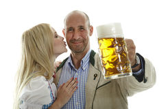 Oktoberfest Couple Stock Photos