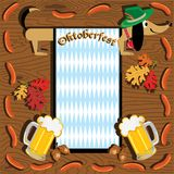 Oktoberfest dachshund Stock Photography