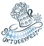 Oktoberfest decoration Royalty Free Stock Photos