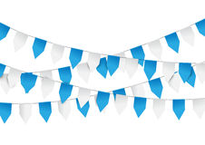 Oktoberfest decoration with bunting Stock Photo