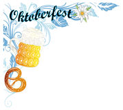 Oktoberfest dekoracja Zdjęcia Stock