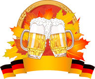 Oktoberfest design Stock Photos