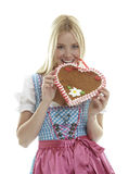 Oktoberfest Dirndl Royalty Free Stock Photos