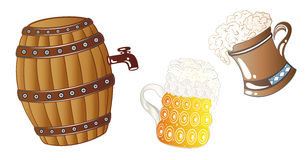 Oktoberfest drinks Royalty Free Stock Image