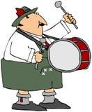 Oktoberfest Drummer vector illustration