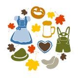 Oktoberfest elements Stock Images