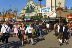 Oktoberfest em Munich Fotografia de Stock Royalty Free