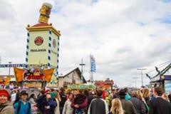 Oktoberfest 2010 en Munich Fotos de archivo libres de regalías
