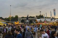 Oktoberfest 2015 en Munich, Alemania Foto de archivo libre de regalías