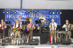 Oktoberfest event in Genova, Italy Royalty Free Stock Images