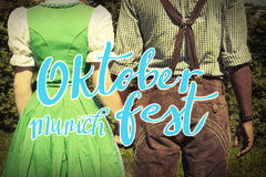 Oktoberfest-Fahne lizenzfreie stockfotografie