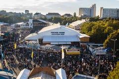 Oktoberfest fairgound in Munich, Germany, 2015 Royalty Free Stock Photography