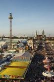 Oktoberfest fairgound in Munich, Germany, 2016 Stock Photo
