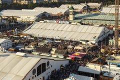 Oktoberfest fairgound in Munich, Germany, 2016 Stock Image