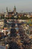 Oktoberfest fairgound in Munich, Germany, 2016 Stock Photography