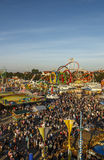 Oktoberfest fairgound in Munich, Germany, 2016 Stock Photos