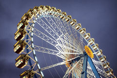 Oktoberfest. Famous ferris wheel at the oktoberfest in munich - germany royalty free stock image