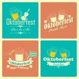 Oktoberfest Feier-Hintergrund Lizenzfreies Stockbild