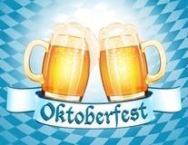 Oktoberfest Feierauslegung Lizenzfreie Stockbilder