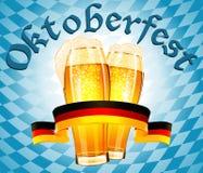 Oktoberfest Feierauslegung Stockbild