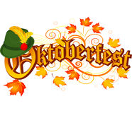 Oktoberfest-Feierentwurf Lizenzfreies Stockfoto