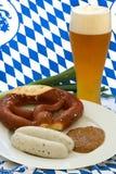 Oktoberfest Frühstück Lizenzfreie Stockbilder