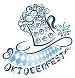Oktoberfest garnering stock illustrationer