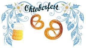 Oktoberfest garnering Arkivfoton