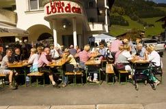Oktoberfest in Gerlos Austria royalty free stock photo
