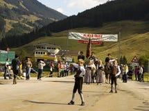 Oktoberfest in Gerlos Austria royalty free stock photos