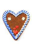 Oktoberfest Gingerbread heart Royalty Free Stock Photos