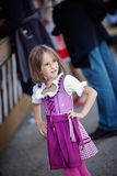 Oktoberfest girl Royalty Free Stock Image