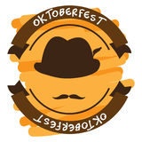 Oktoberfest graphic design Stock Image