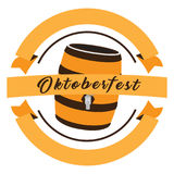 Oktoberfest graphic design Royalty Free Stock Photos